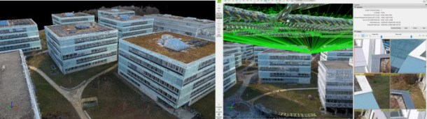 In rayCloud, people visualize 3D and corresponding images without any 3D equipment