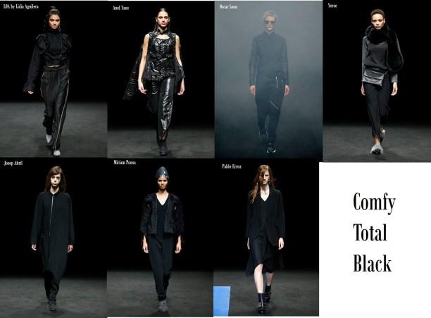 Comfy Total Black