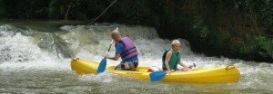 Canoë-kayak sur la Save