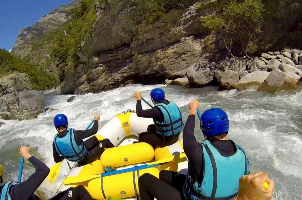 La saison du Rafting en Ubaye commence