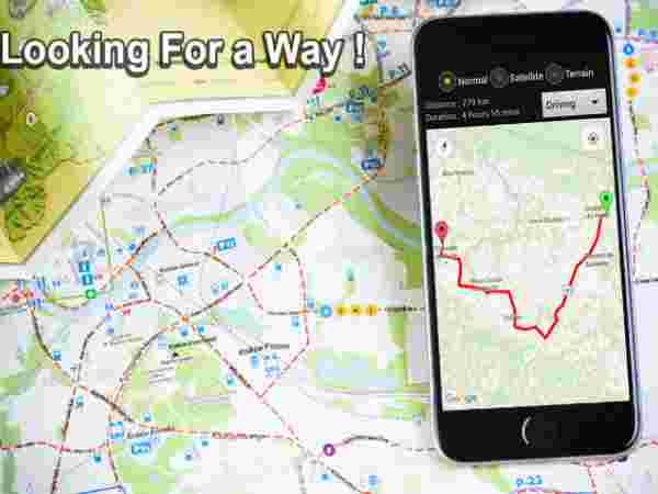 8 map apps you should use in india   Gizbot News GPS Route Finder   GPS Maps Navigation   Transit