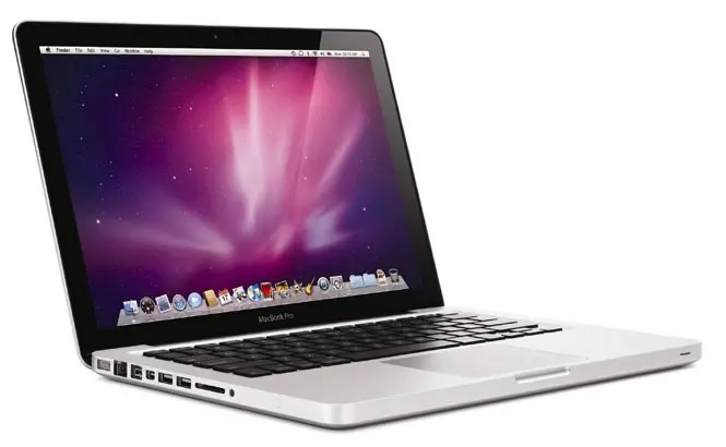 Apple macbook pro laptop with high resolution display 2012