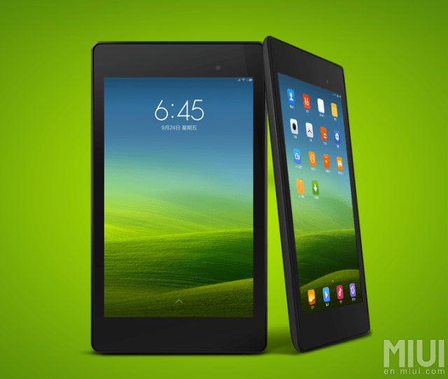 111 Xiaomis MIUI now supports tablets; Nexus 7 gets to be the first adopter