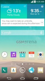 LG G3 screenshots confirm QHD display, reveal revamped UI