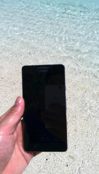 Huawei Ascend P2 turns up again appears to be waterproof!