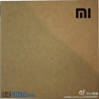 leaked xiaomi tv packaging