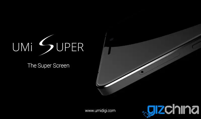 UMI Super will have Super AMOLED screen
