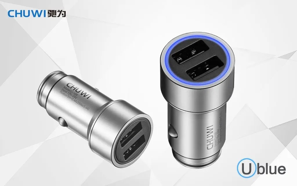 Chuwi UBlue smart car charger coming soon