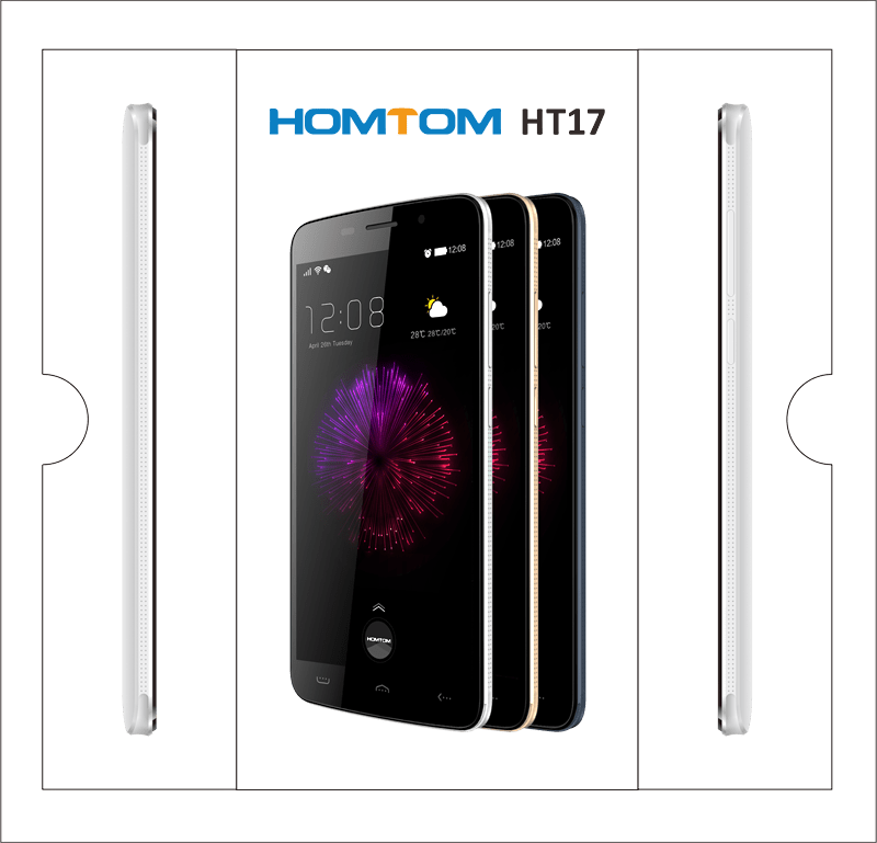 Homtom Ht17 Coming With New Package Design Gizchina Com