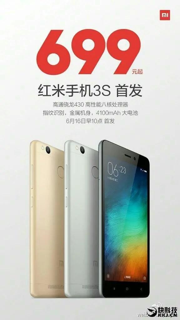 Xiaomi Redmi 3S sprzedaż