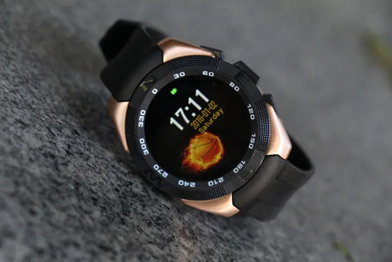 Smartwatch No.1 G5 - new smartwear device with the MT2502 processor