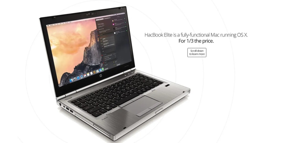HacBook Elite is a $329 macOS machine, how long before China gets at it too?