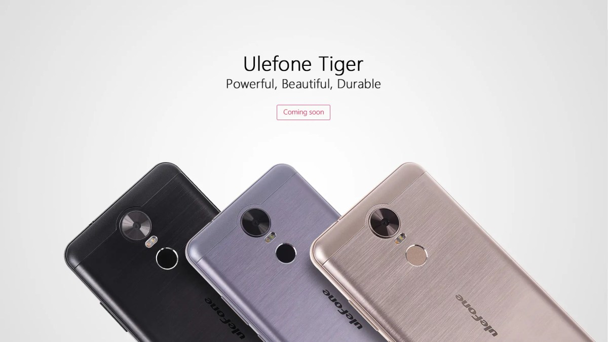 Ulefone Tiger will feature an 'explosion proof' 4000mAh battery
