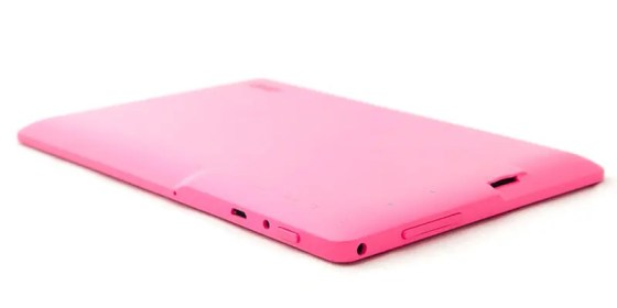 7-inch pink tablet