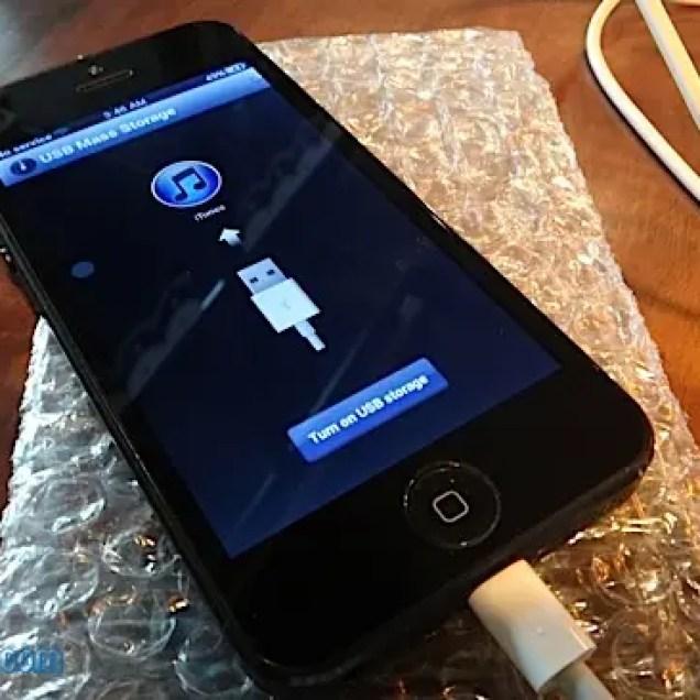 GooPhone i5 lightning connecter