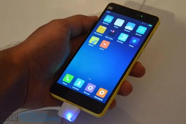 желтый Xiaomi Mi4i