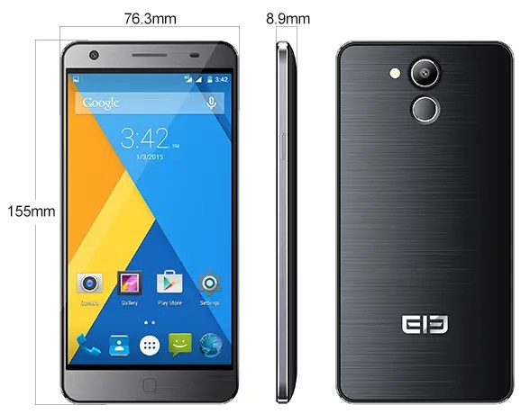 Elephone P7000 Pioneer specifications