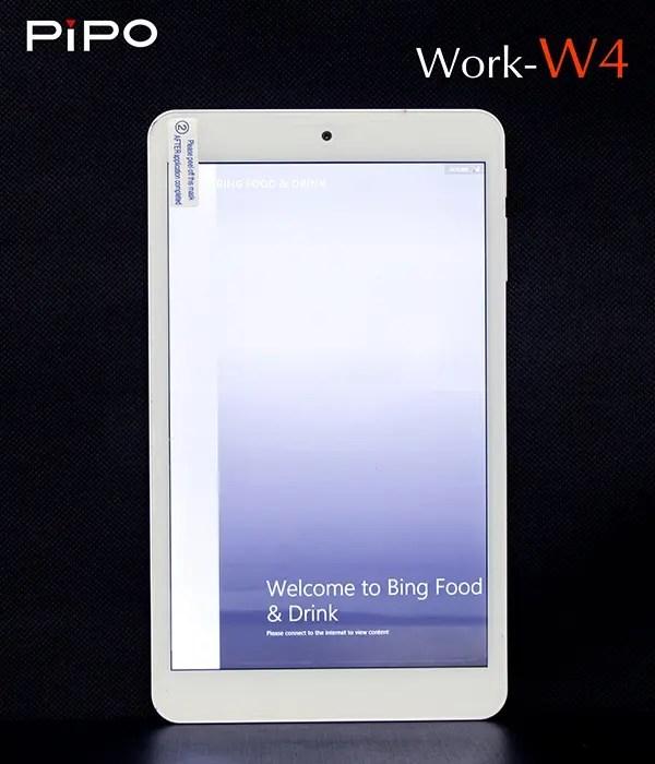 PiPO Work W4   8 дюймовый Windows планшет за 81$