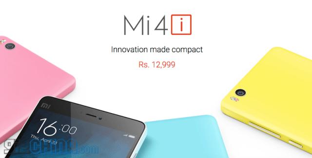 xiaomi mi4i specifications