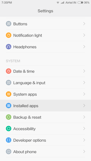 Screenshot 2014 09 12 19 35 39 576x1024 How to: Use Google Now launcher or any 3rd party launcher on MIUI 6 (and more)