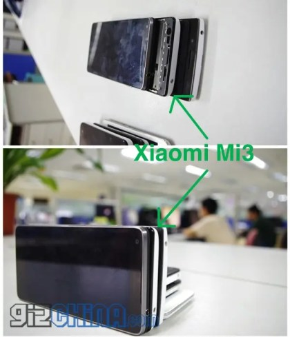 Xiaomi Mi3 leaked 2 Xiaomi Mi3 leaked photos, complete specification and release date!