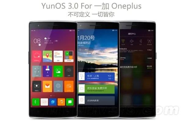oneplus one yunos