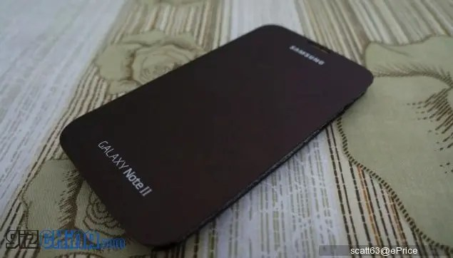 amber brown samsung galaxy note 2 case