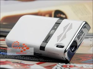 cool gtw18 projector phone back 300x225 Cool Projector Phones Cost Just $117!