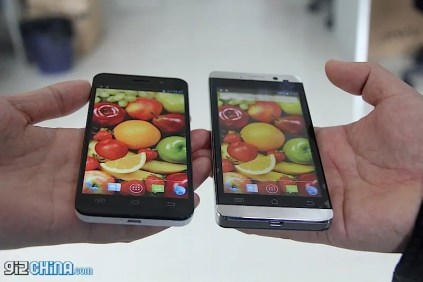 JiaYu G3 Vs. JiaYu G4: Screen comparison