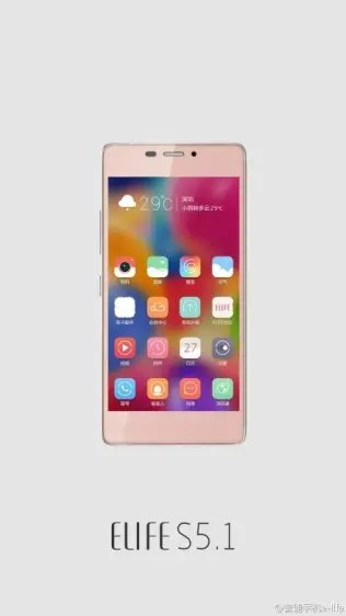 gionee s5.1 pink Top 10 Chinese smartphones you should buy instead of the iPhone 6