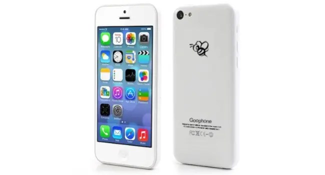 goophone 5c iphone clone