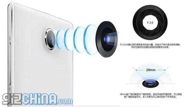 inew v6 rear camera