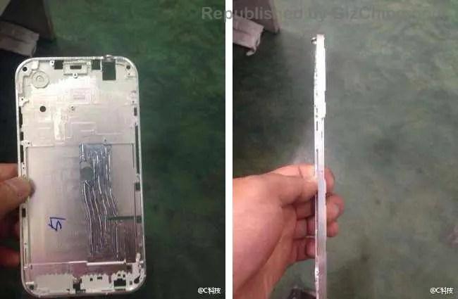 iphone 6 leaked metal frame