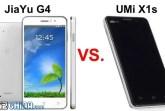 umi x1s vs jiayu g4