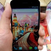 JiaYu G4 720hd display