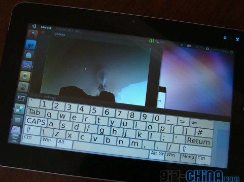 linux ubuntu tablet close up camera gizchina Ubuntu Tablet Specification and Pricing Announced!