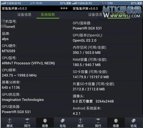 quad-core iphone 5 clone 2ghz specifications