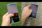 Video thumbnail for youtube video Video: What happens when the OnePlus One takes a dip in a puddle of water - Gizchina.com