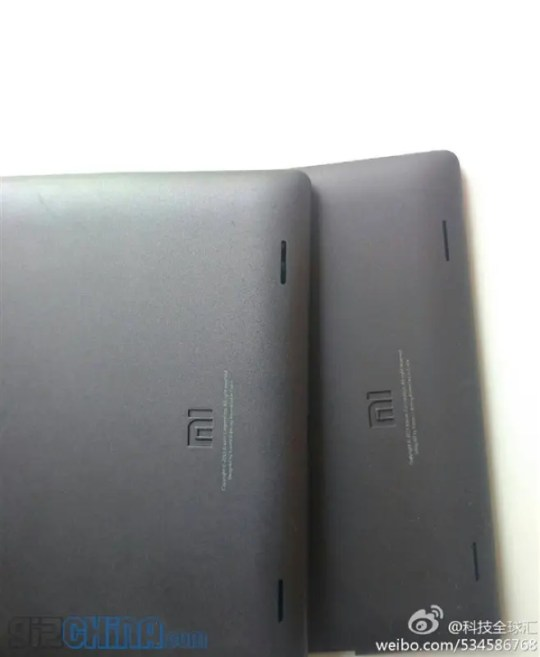 xiaomi tablet leaked1 Xiaomi Tablet leaked photos, looks a lot like the iPad mini