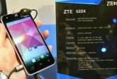 zte geek intel android phone