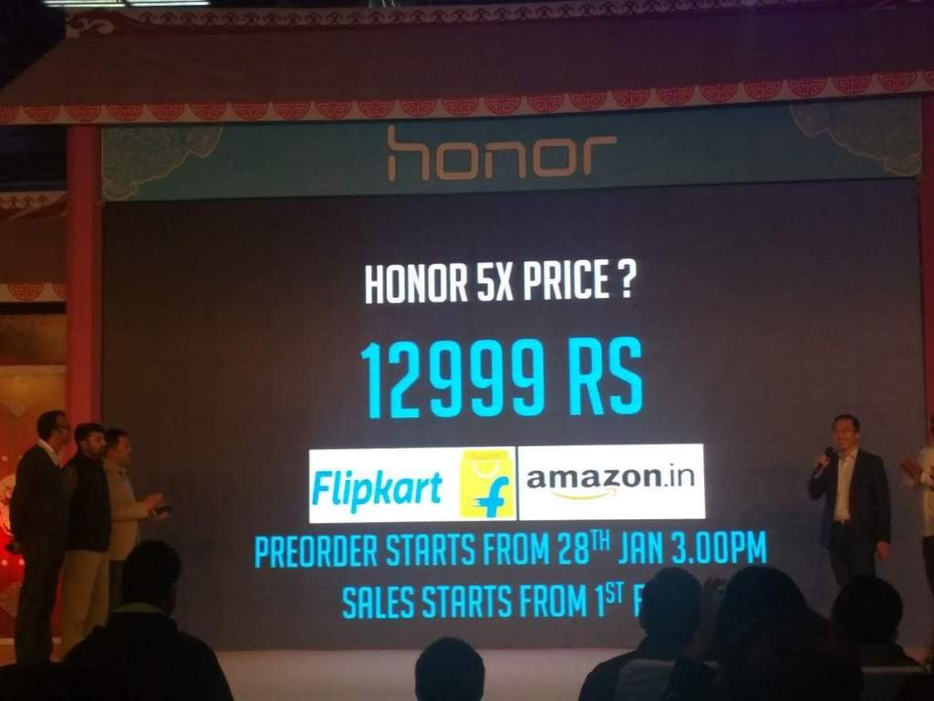 Honor 5X Price