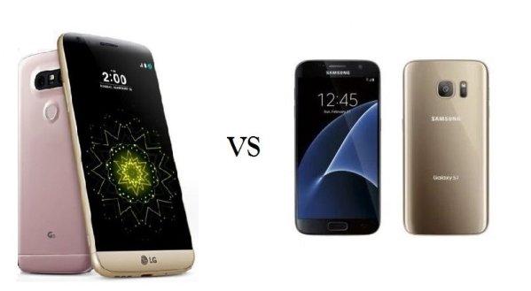 LG G5 vs Samsung Galaxy S7 Comparison