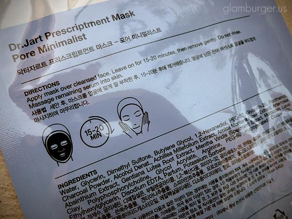 Dr. Jart Pore Minimalist Mask