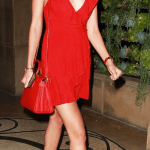 Victoria's Secret Angel Wearing Urban Outfitters Dress