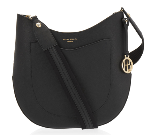 West 57th Crossbody Hobo in black