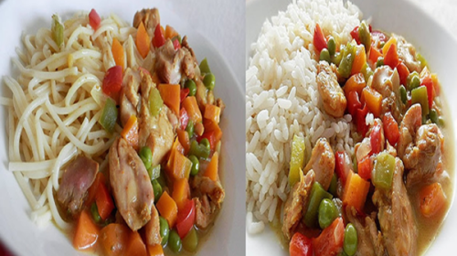 GT Food Talk: Coconut Curry Sauce with Chicken and Vegetables