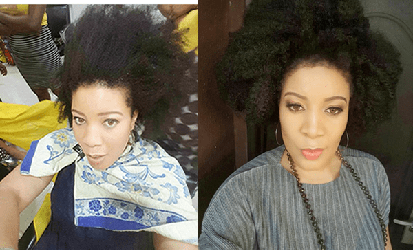 Photos: Monalisa Chinda Flaunts Long Natural Hair