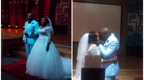 First Photos From Actor, Seun Akindele's Wedding