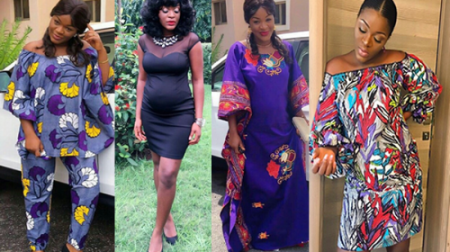 Check Out Pregnant ChaCha Eke's Lovely Maternity Styles