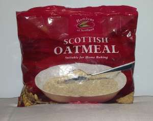 Hamlyns Scottish Oatmeal for breakfast